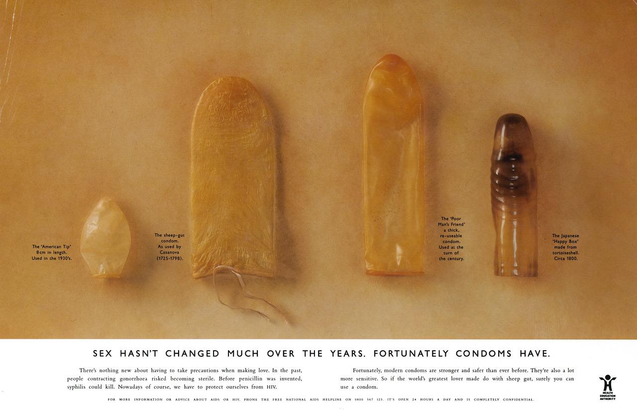Презервативы надевают на член
