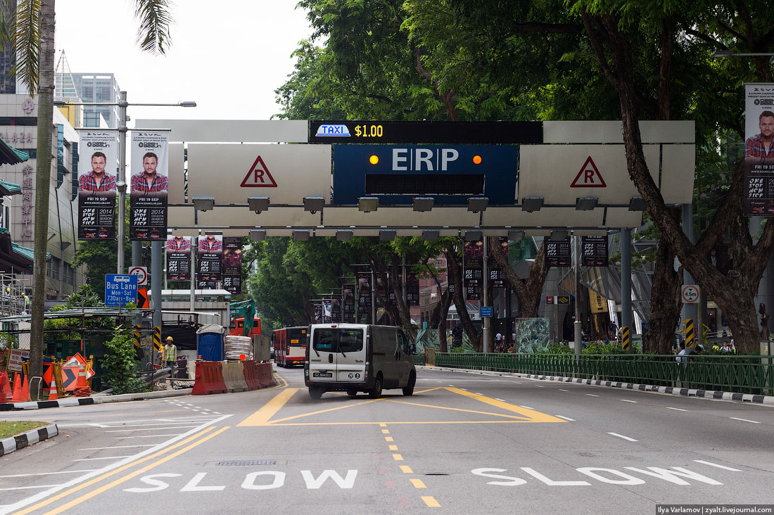 Как устроена транспортная система в Сингапуре