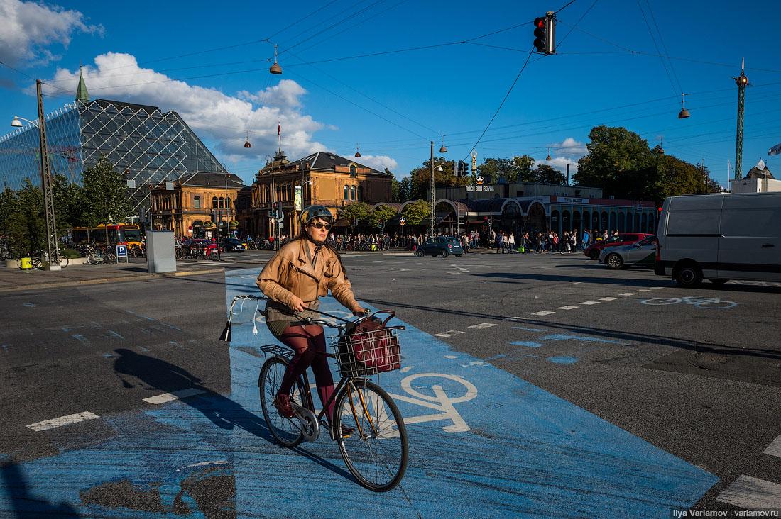 Город, который хочет стать удобным для велосипедов