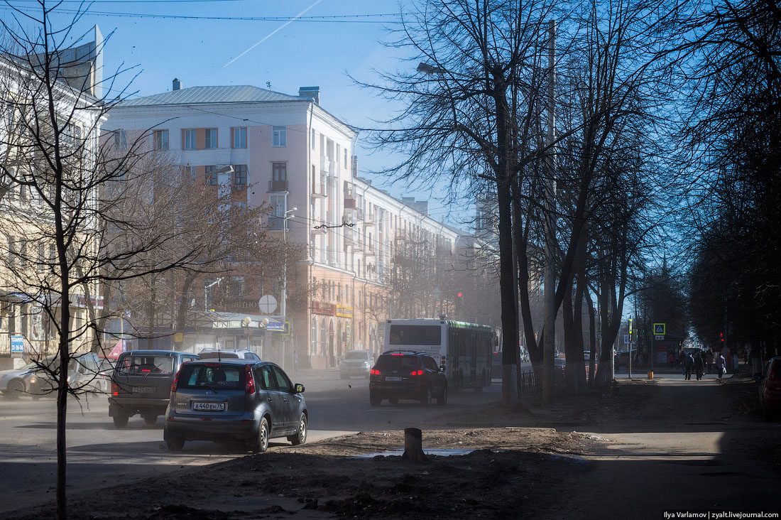 Откуда в наших городах берётся пыль?