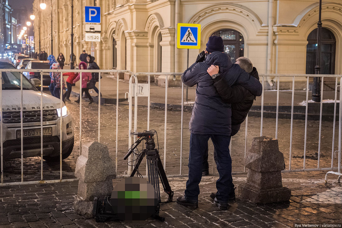 Русские снимают бухих