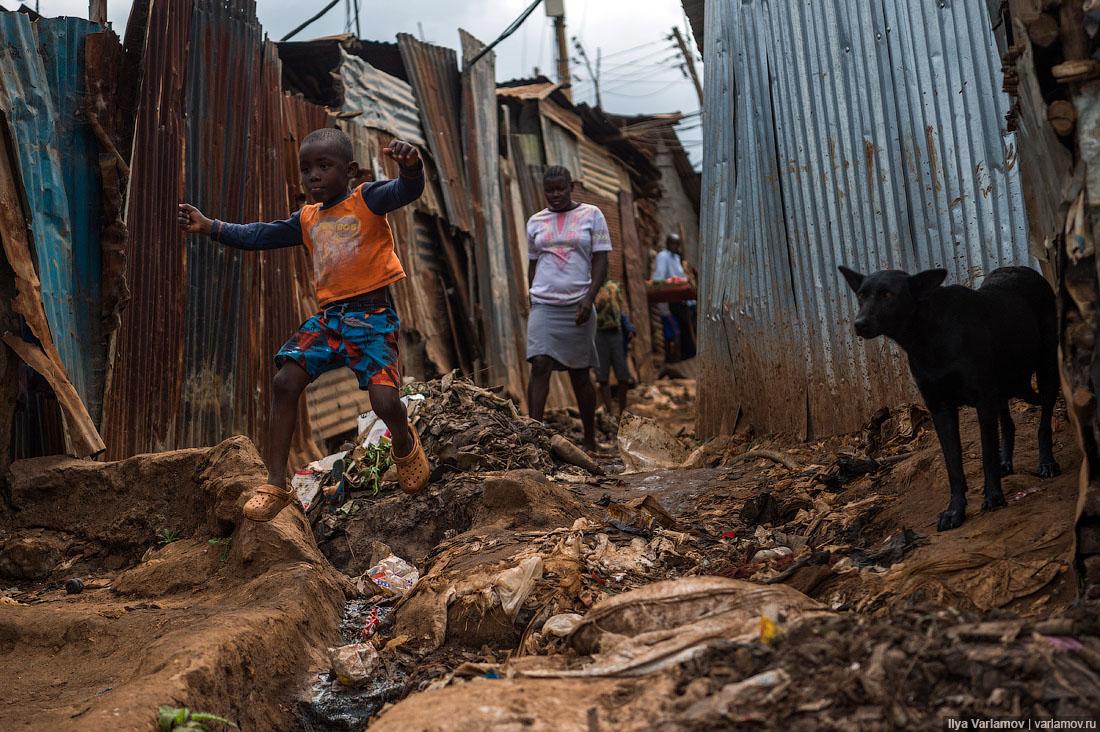 Африканская жизнь людей