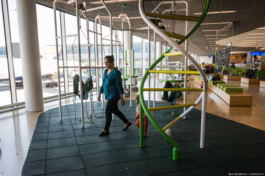 Аэропорты строгого режима