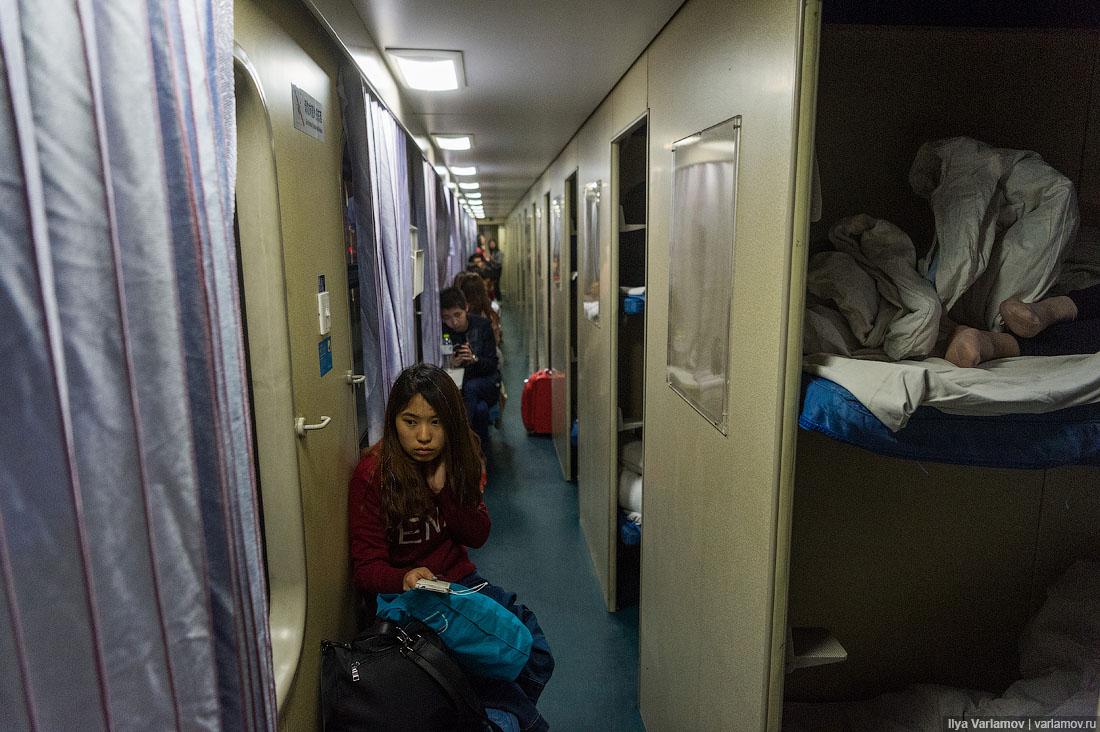 Опрос о предпочтениях при поездке на поезде в одиночку.
