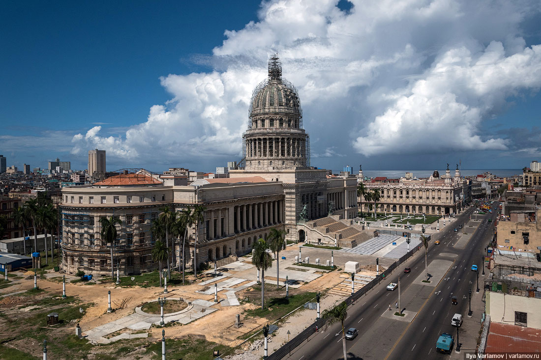 Russia will spend 642 million rubles for the restoration of the dome of the Capitol in Havana.