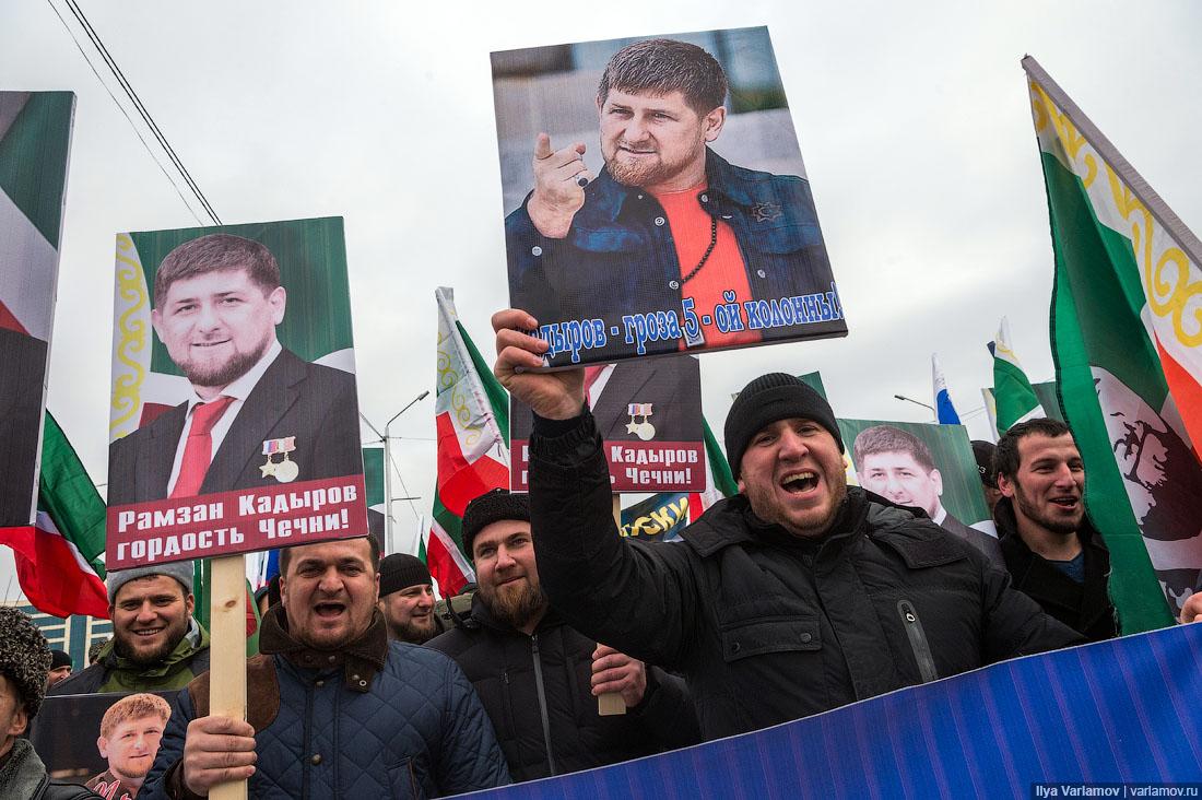 """Рамзан Кадыров: """"Если он не извиняется, то я накажу его так жестоко, чего бы мне это ни стоило"""""""