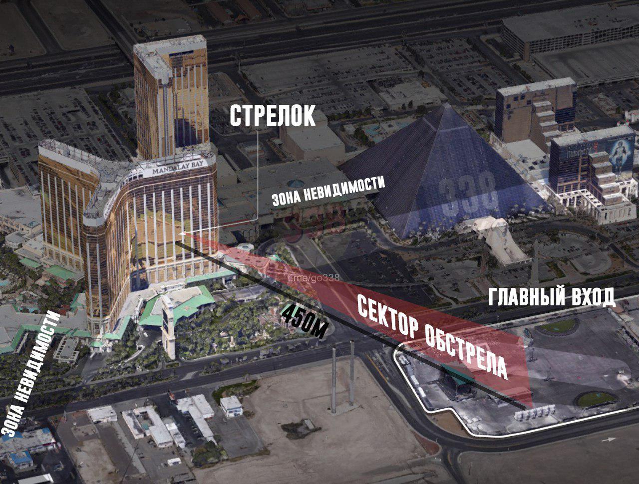 Крупнейший шутинг в истории США: в Лас-Вегасе убиты более 50 человек