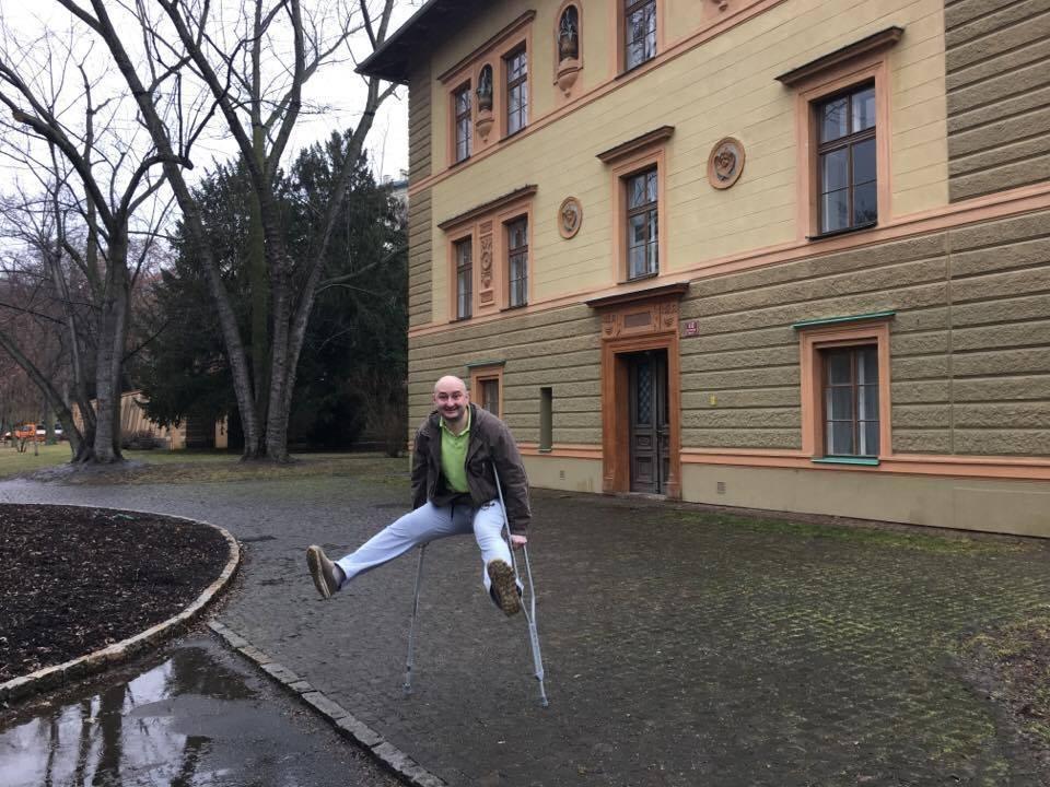 Журналист Аркадий Бабченко уехал изУкраины