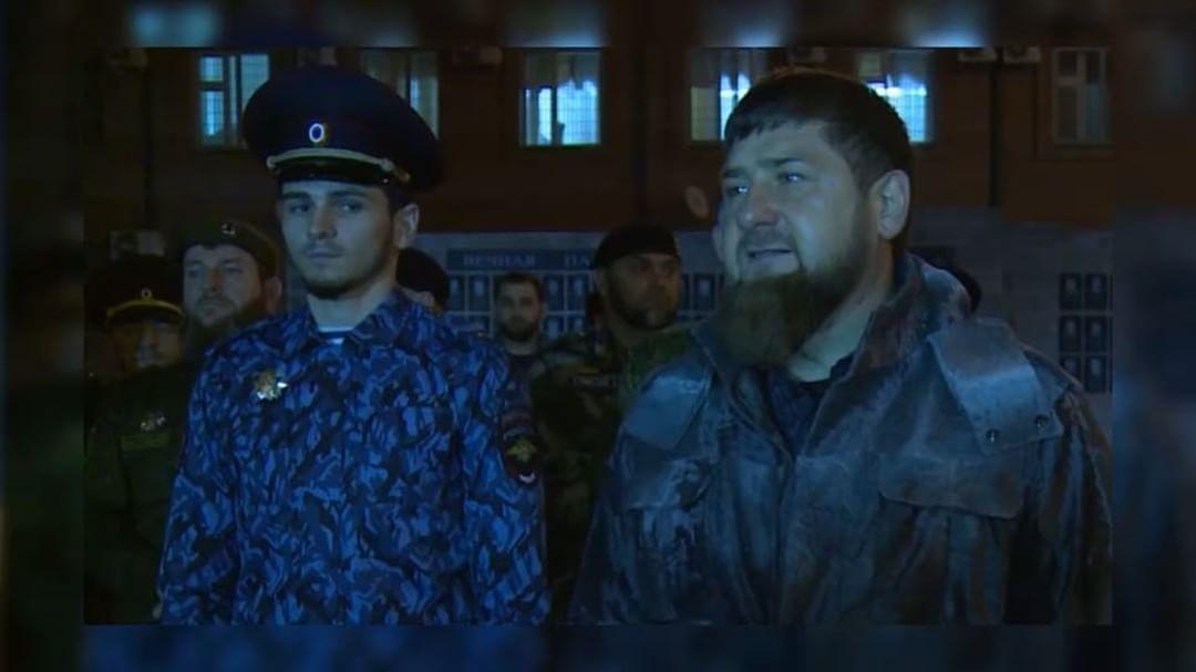 Grozny police headed by a first-year student, he is a relative of Kadyrov Kadyrov, KhasMagomed, police, Kadyrov, Chechnya, first, site, December, work, rank, Grozny, head, KhasMagomed, Chechen, new, enrolled, station, Ramzan, management