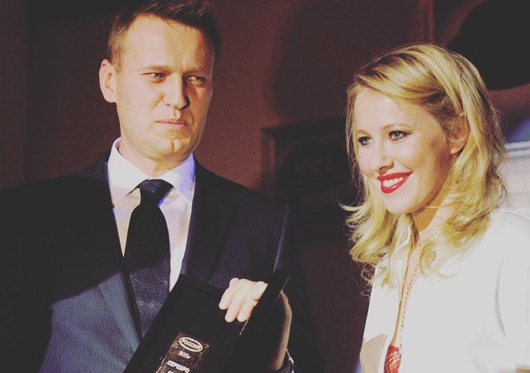 Собчак предложила Навальному стать ее доверенным лицом