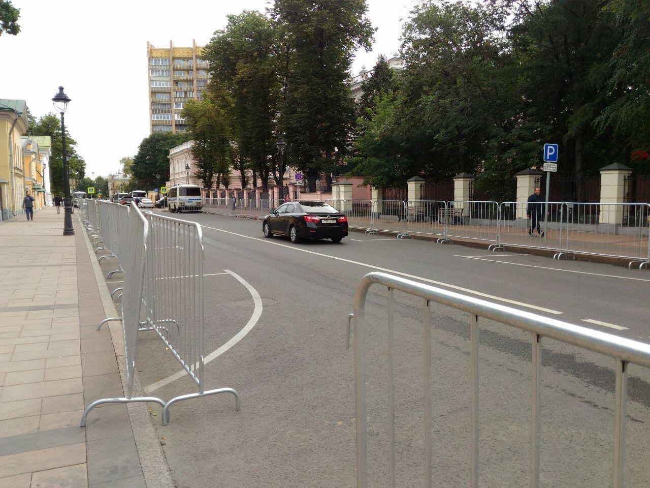 У посольства Мьянмы в Москве задержаны 20 человек
