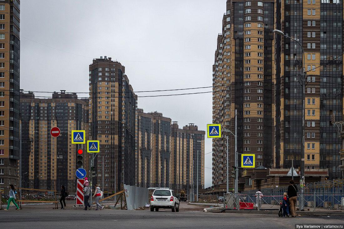 Путин призвал строить комфортное жилье, а не «безликие коробки или муравейники»