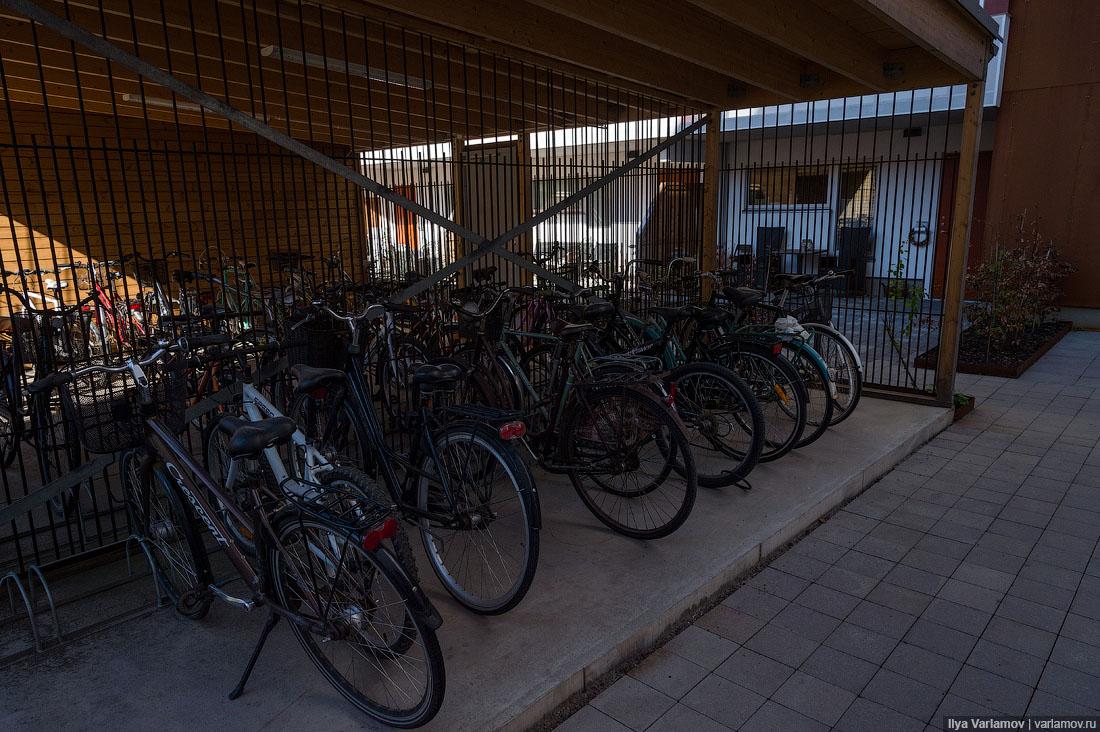 Право на хранение велосипедов
