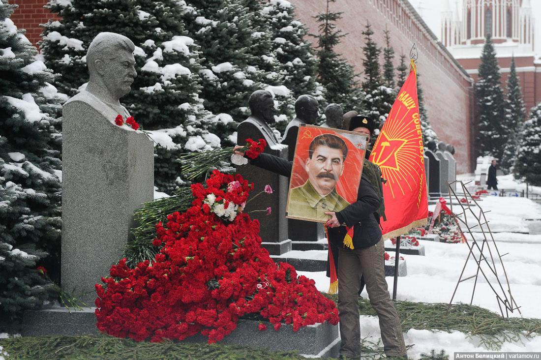 Где похоронен Сталин