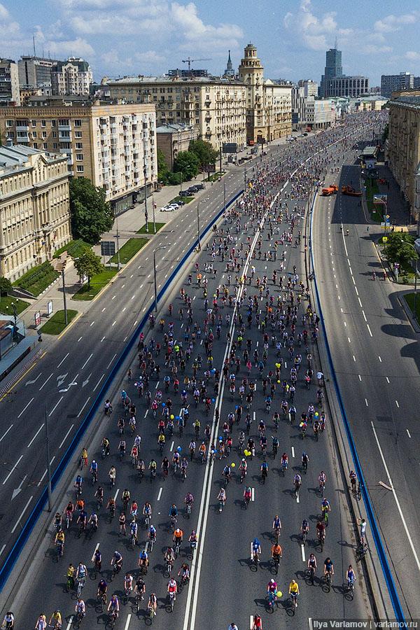 Москва осталась без велопарадов