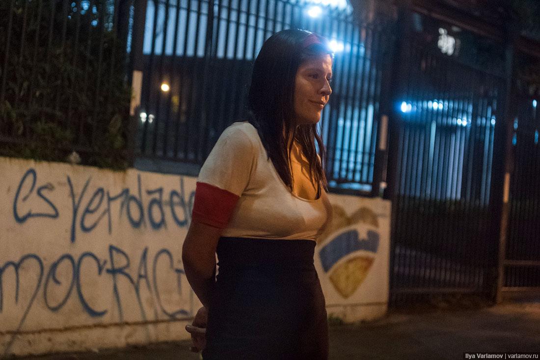 Венесуэлки проститутки жирный снял проститутку