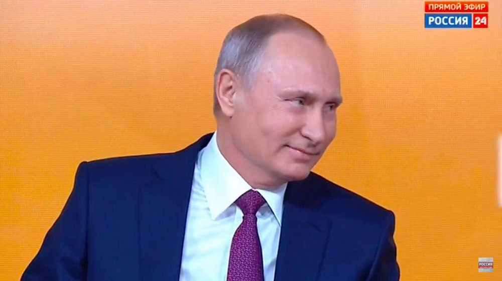 Очень интересная прессуха Путина: ОНЛАЙН