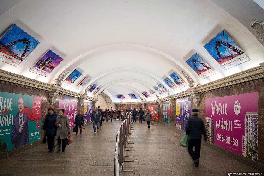В мэрии Москвы пообещали демонтировать рекламу в метро