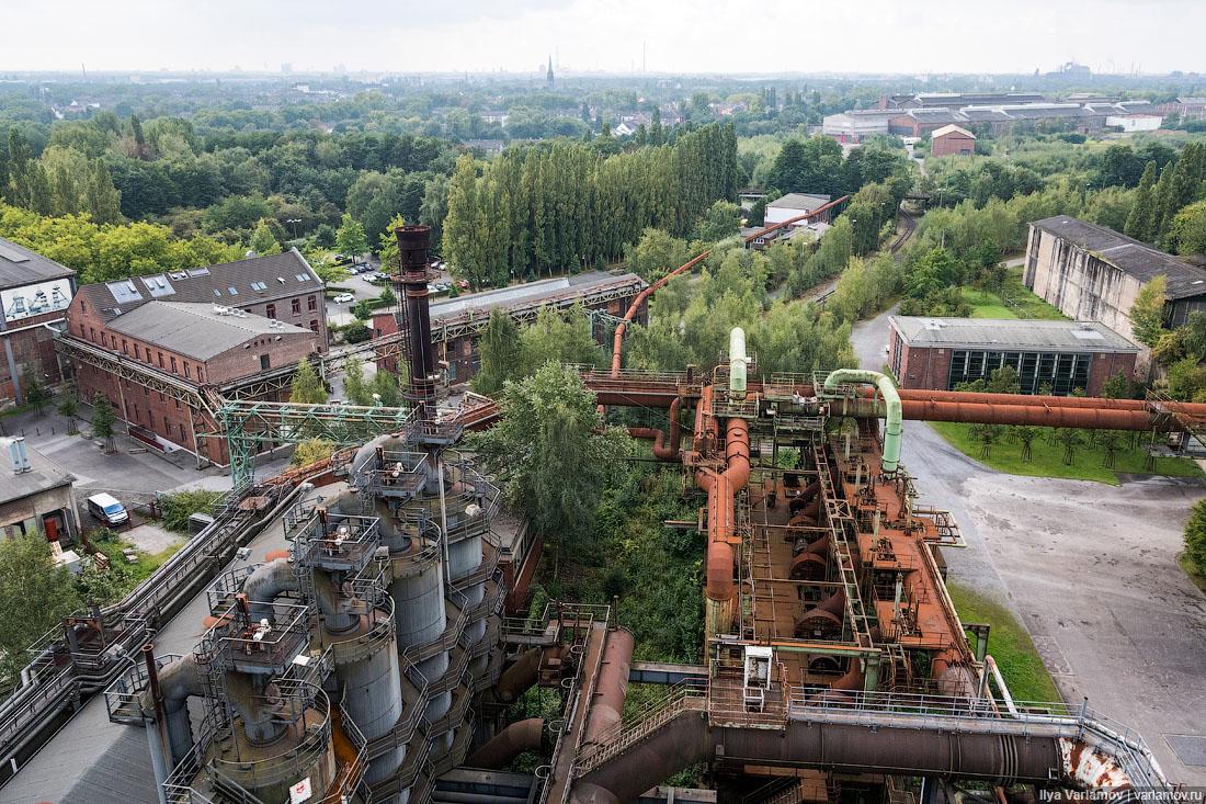 Дуйсбург-Норд: самый опасный парк в Германии