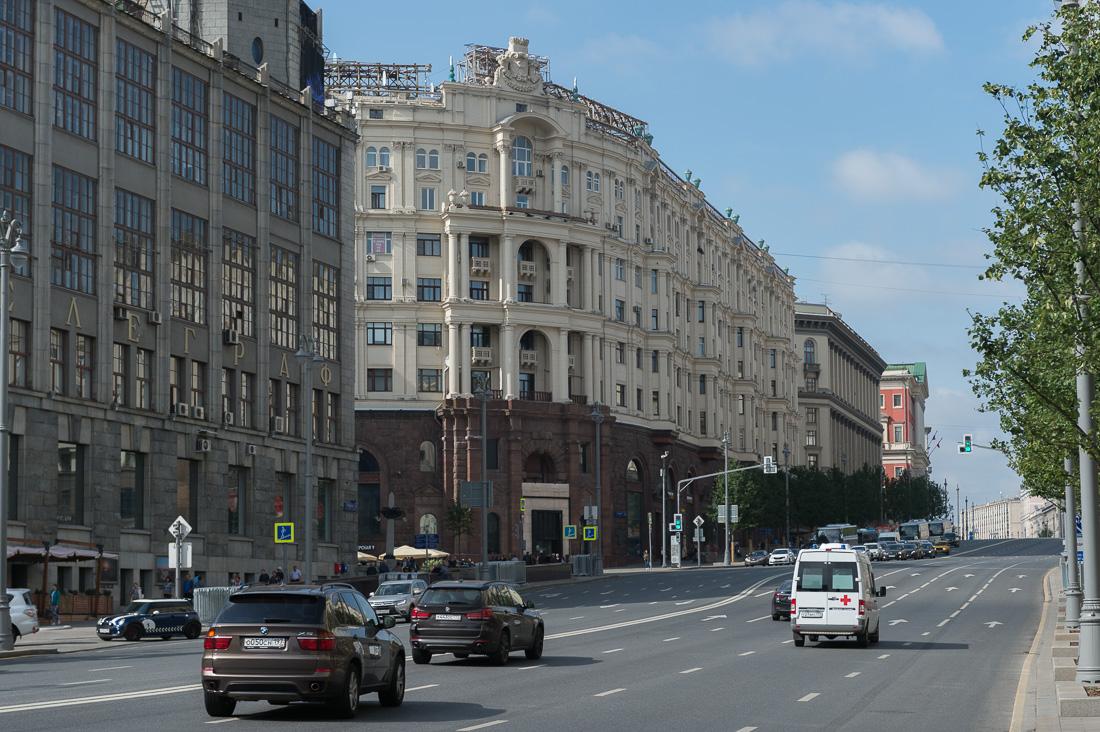 Прогулка по финансовой Москве
