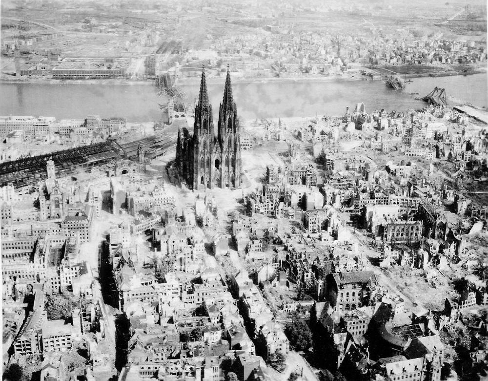 Кёльн после войны