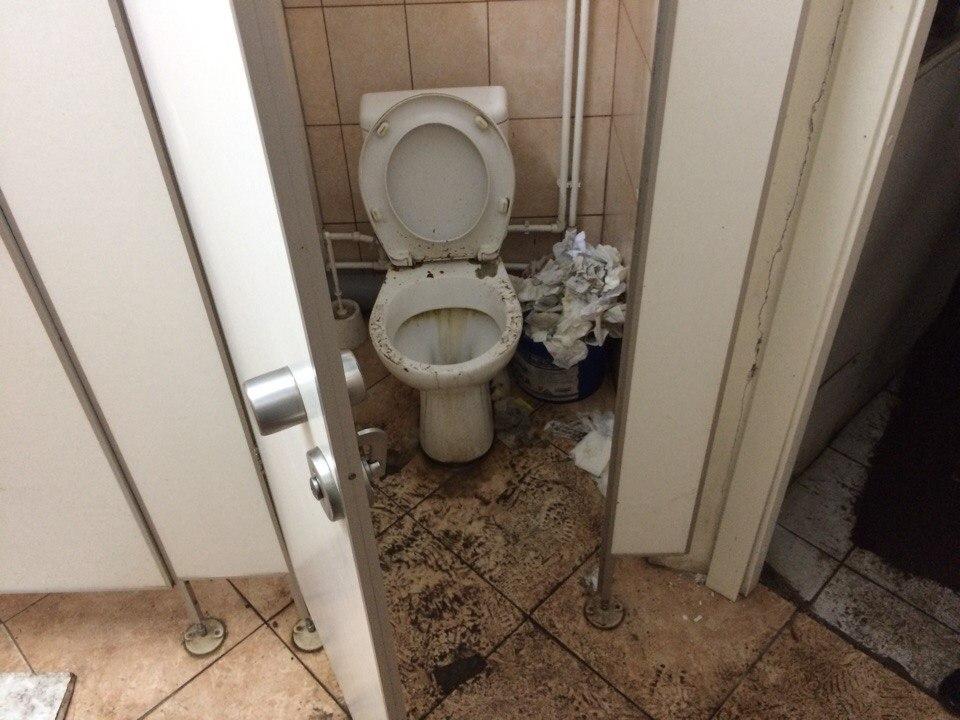 Чудо дырка в туалете