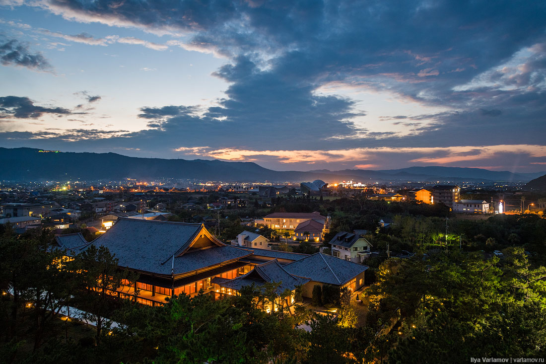Кагосима, Япония: по стопам Ельцина