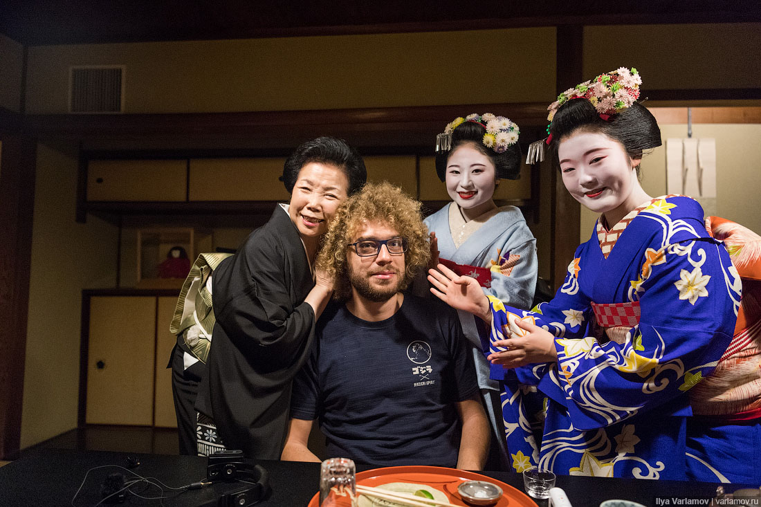 Киото: как я ходил по гейшам!