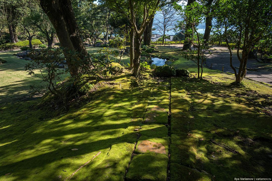Кагосима, Япония: Николай II, хризантемы и храм в честь кошек