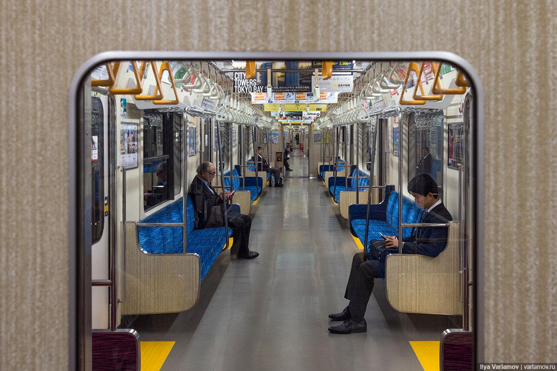 Интересные особенности токийского метро