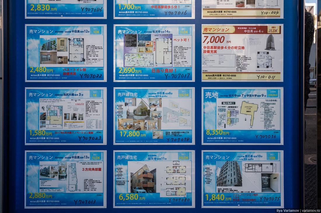 Сколько стоит жилье в Японии