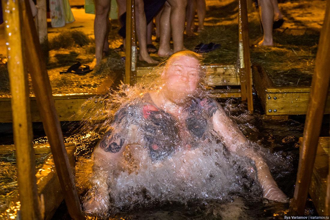 Крещение Господне — главный русский флешмоб