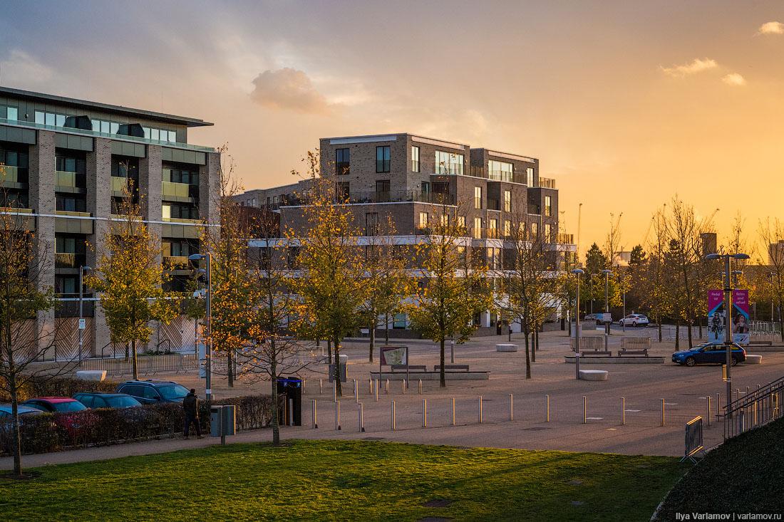 Как строят жильё на окраине Лондона: хотели бы так жить?