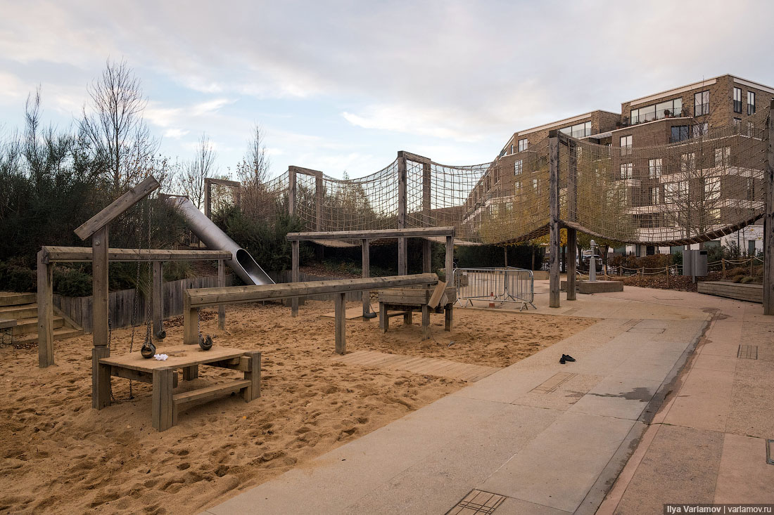 Как сделать детскую площадку в парке. Учимся у Лондона