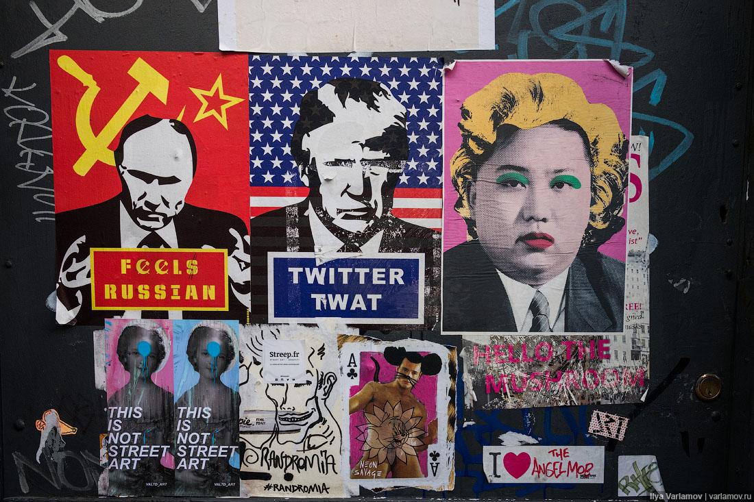 Лондон: не подскажете, где тут у вас календарь с Путиным?