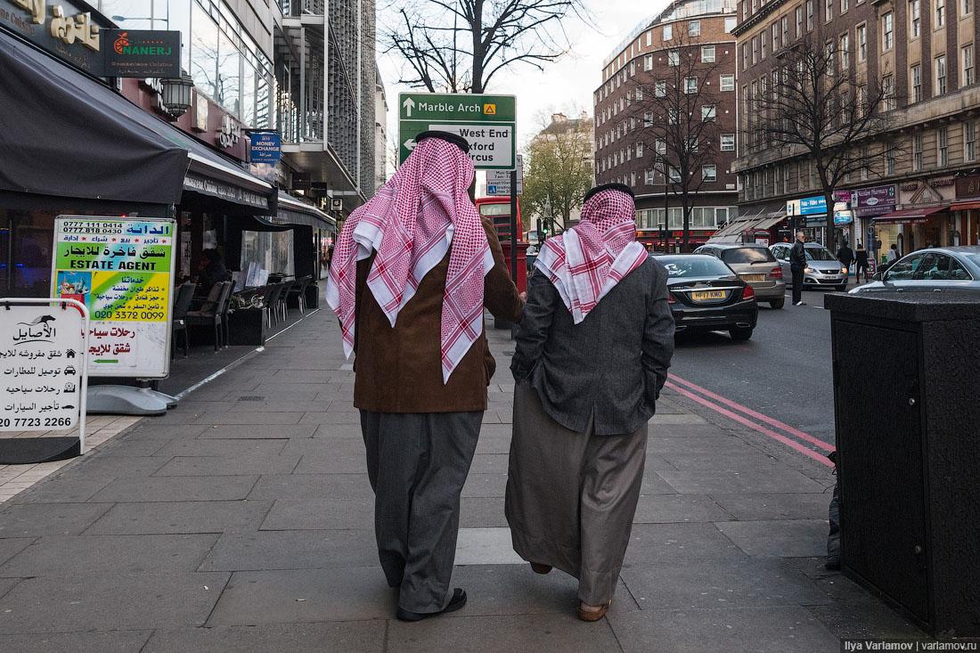 Лондон: кто круче, русские или арабы?