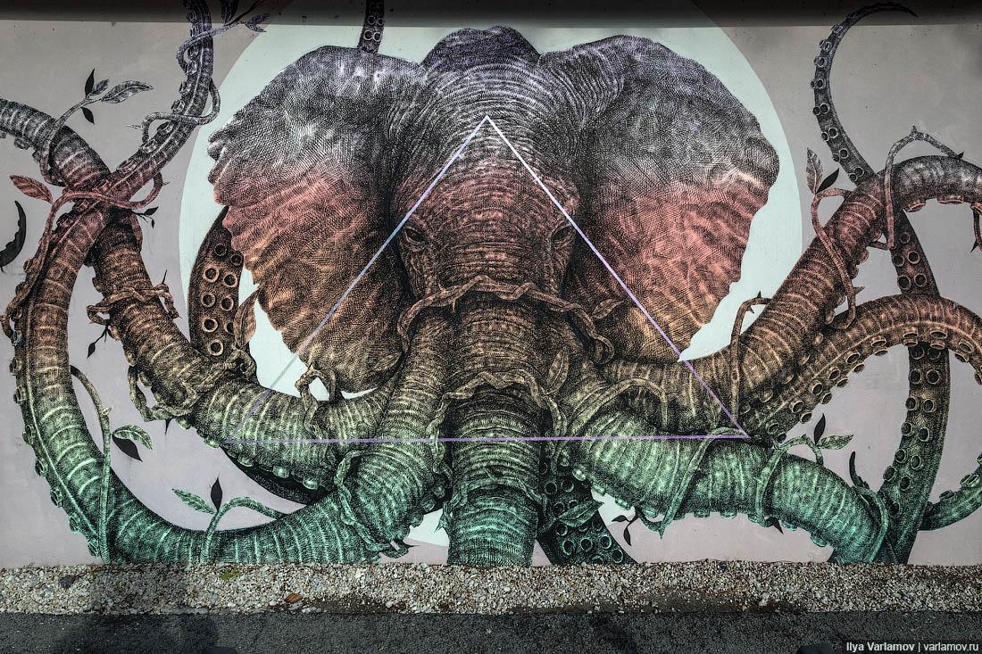Стрит-арт в Майами