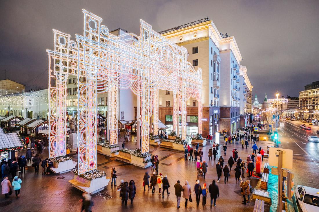 100 невероятных фотографий предновогодней Москвы