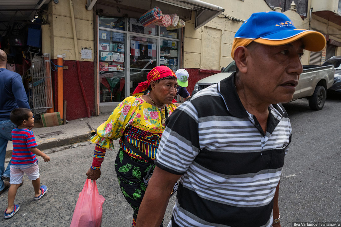 Панама: индейцы, канал, панамы и китайский след