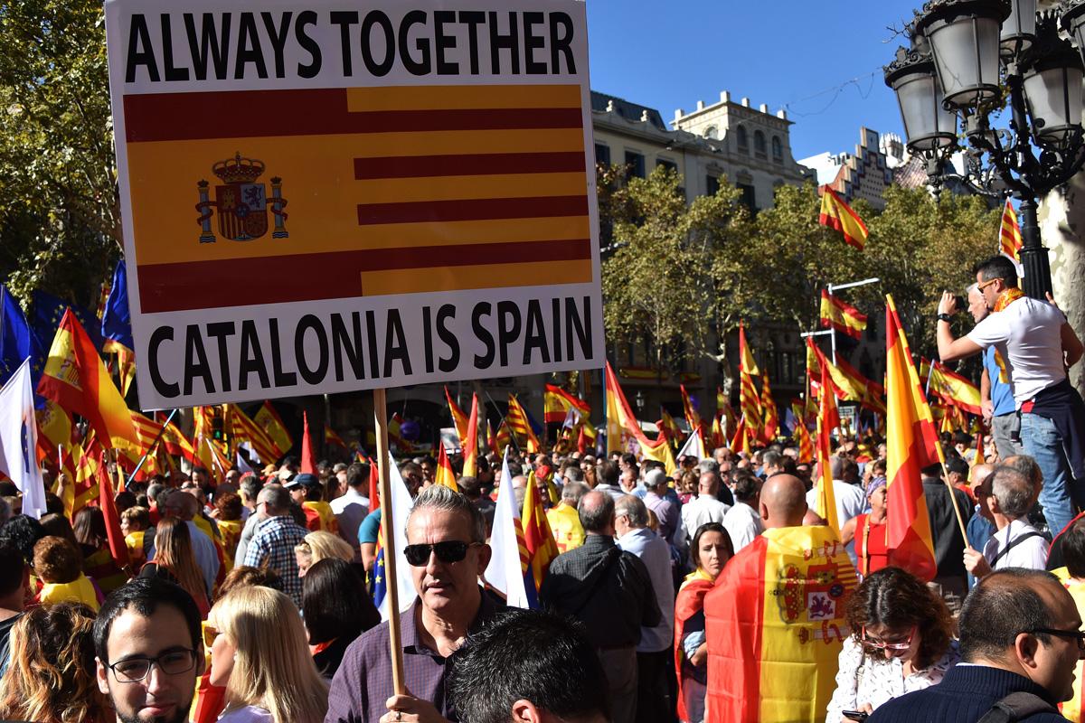 Конституционный суд Испании отменил принятую Каталонией декларацию о независимости