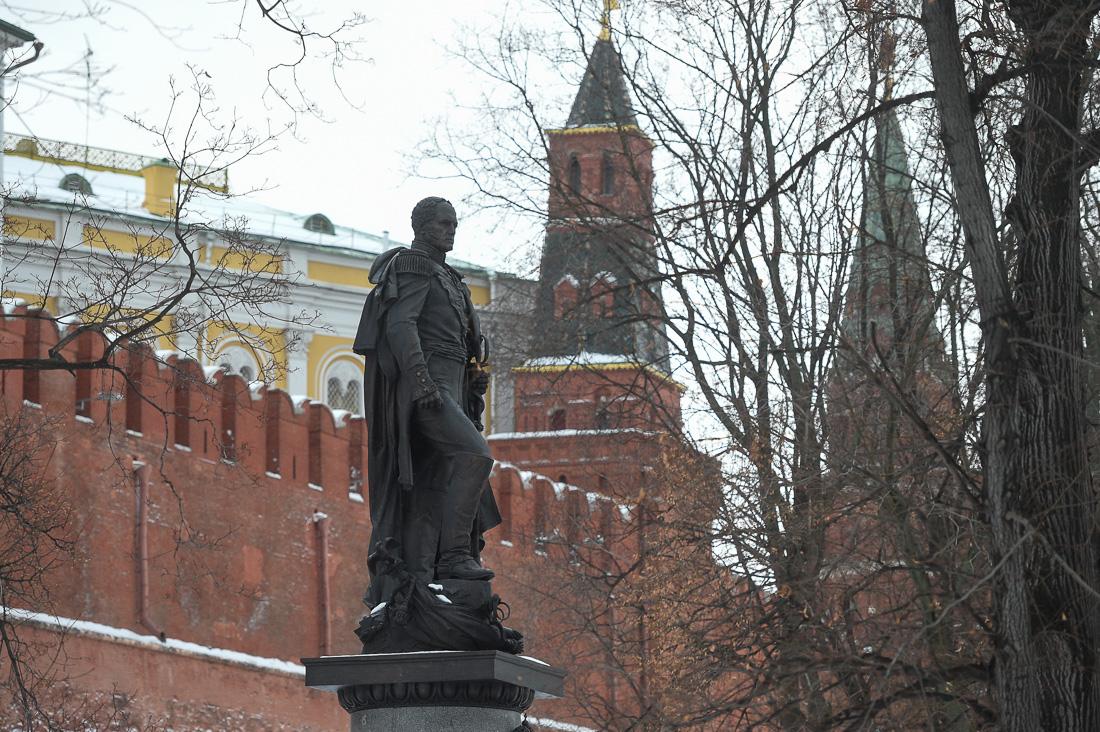 Эконом памятник Пламя Боровицкая