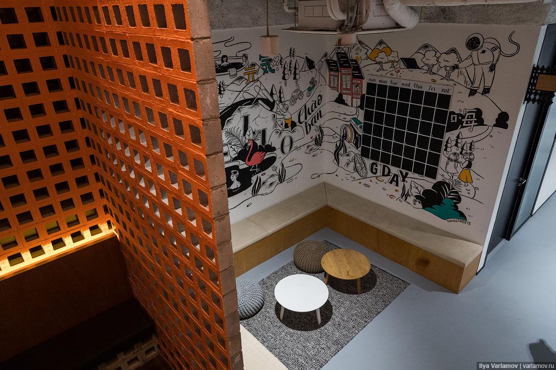 Офис Airbnb в Сингапуре