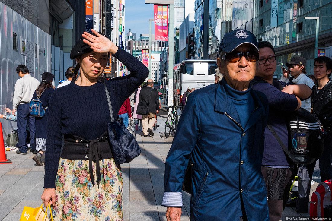 Токио: магазины, женщины, память о рыбке