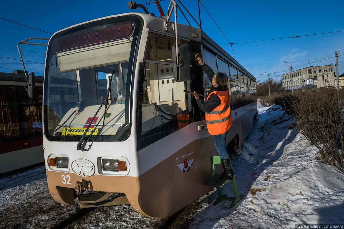 Секс в московском трамвае видео #6
