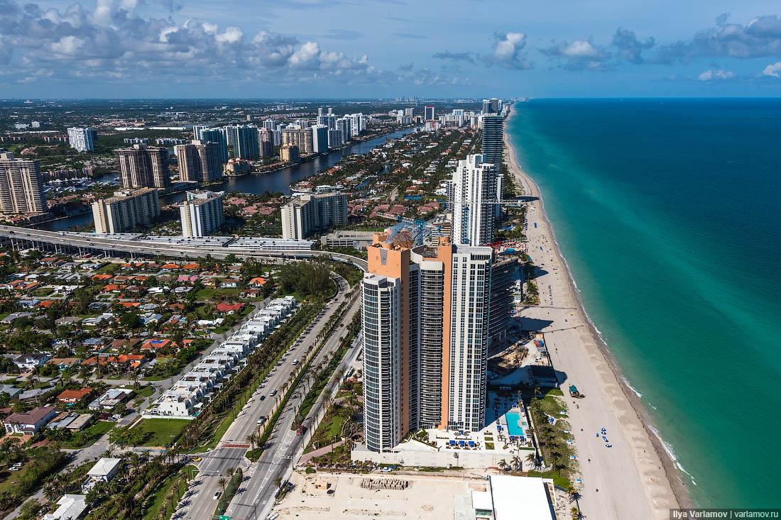 Майами: вездесущие украинцы, буксировка ж**ы и экзоскелет Захи Хадид