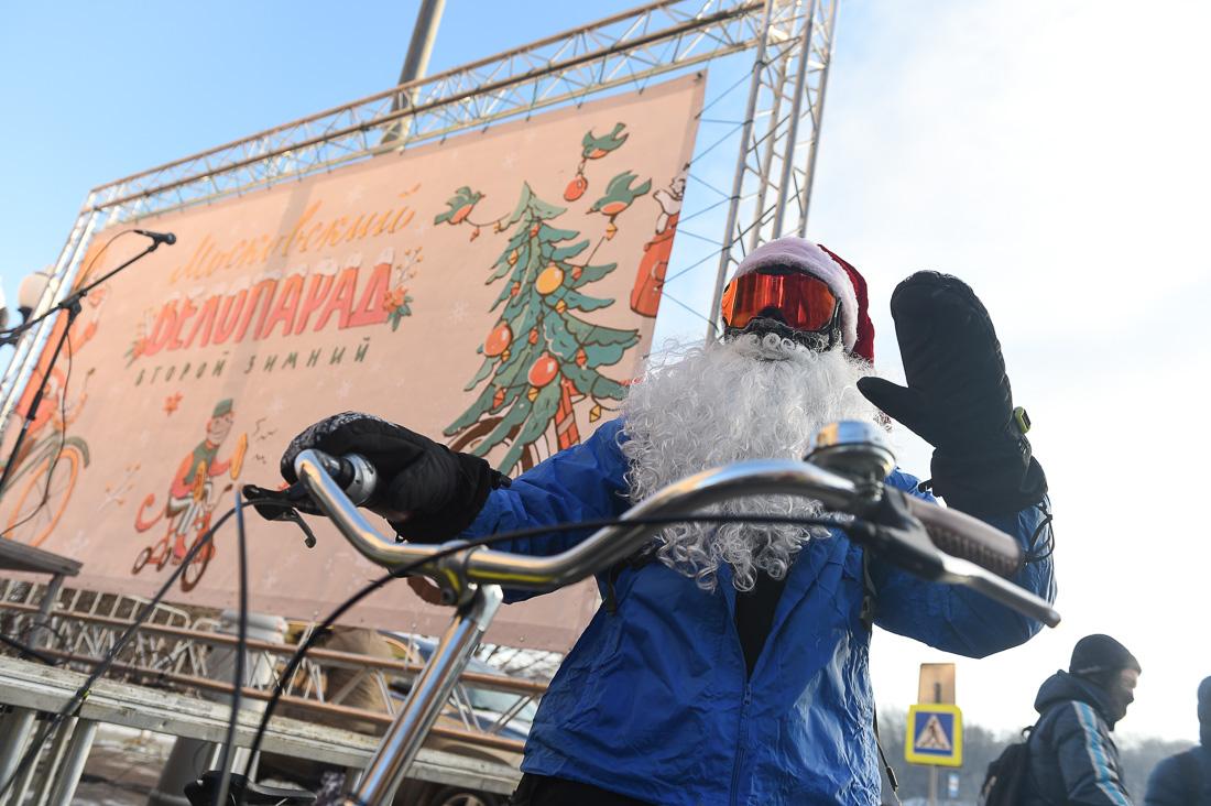 Власти Москвы потребовали изменить маршрут зимнего велопарада