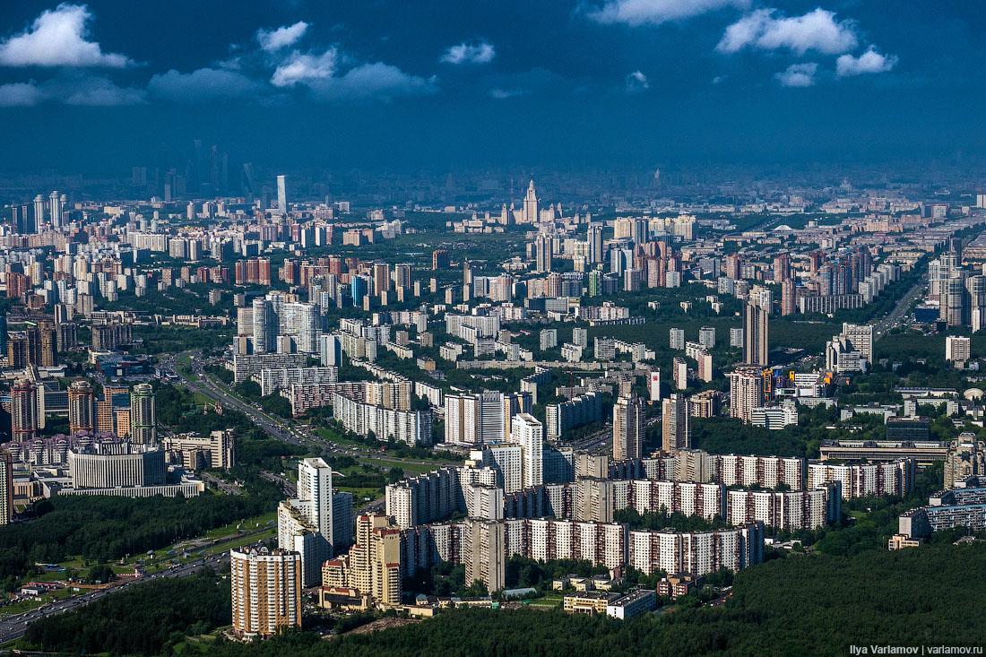 В Москве в 2019 году построили почти пять миллионов квадратных метров жилья (побит рекорд 1965 года)