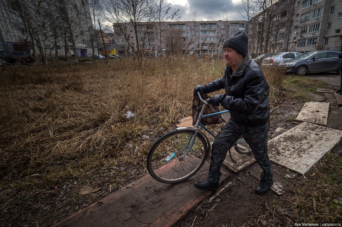 Вышний Волочёк: макет проёбанной России 1:317000