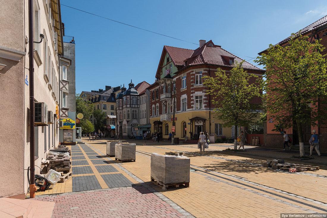 Зеленоградск калининградская область фото улиц