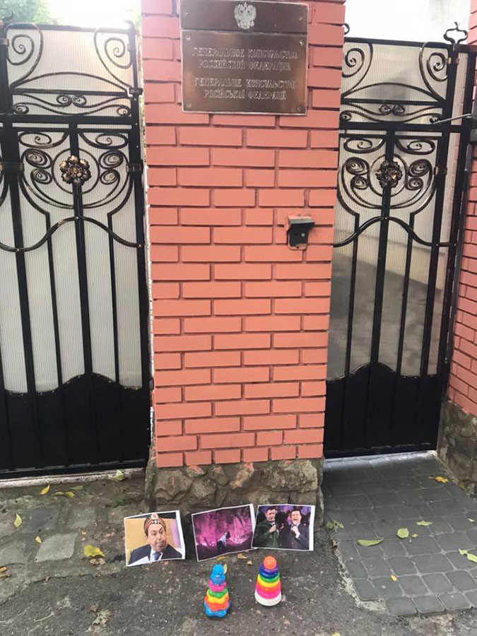 Ukrainians commemorated Kobzon and Zakharchenko Zakharchenko, Donetsk, which, Kobzon, Today, the head, the next, Kobzon, staged, Joseph, embassies, Kiev, August, commemoration, covered, because, the beginning, the format, such, chose
